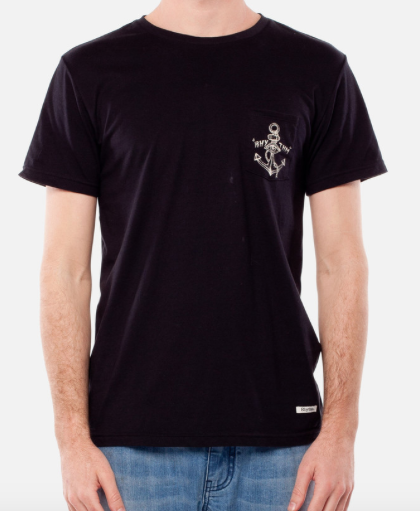 Lost At Sea T-Shirt // Black