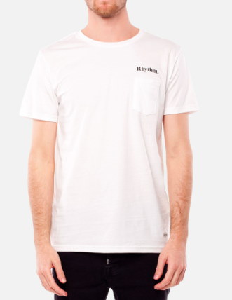 Flag T-Shirt // White