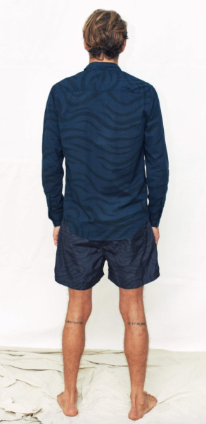 Let's Hit Pier Side Shirt // Navy