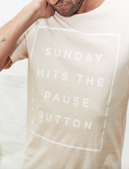 Sunday Pause T-Shirt // Dirty Pink