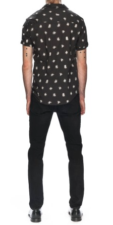 Hunter Shirt // Black Cross