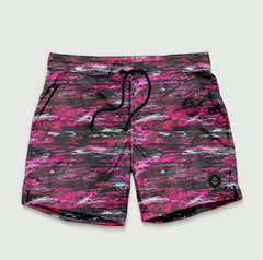 Steve Olson Short // Pink & Black