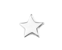 Star Earrings // Silver