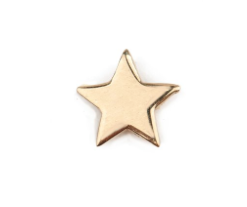 Star Earrings // Gold