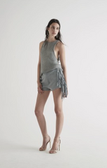 Jett Knit Tank // Dove Grey