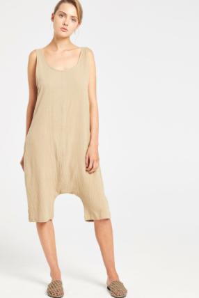 Teak Playsuit // Olive