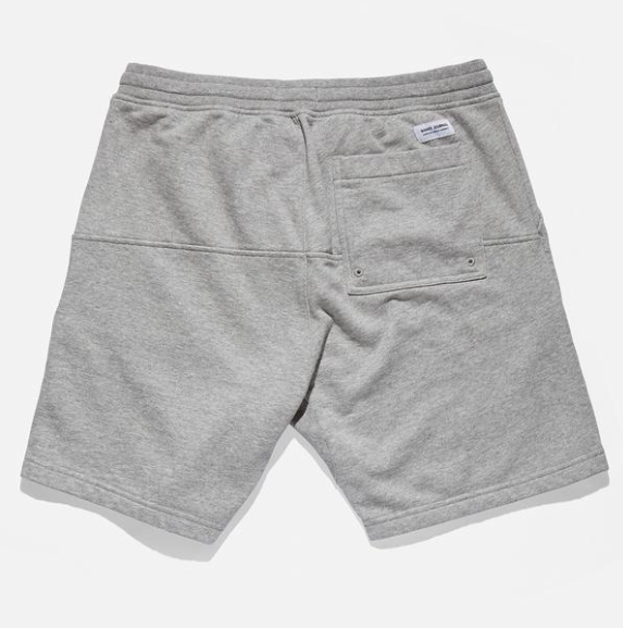 Big Bear Fleece Walkshort // Heather Grey