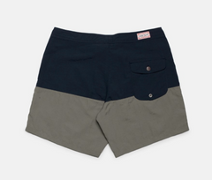 Trim Trunk // Navy/Olive