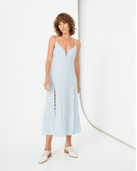 Looped In Slip Dress // Stripe