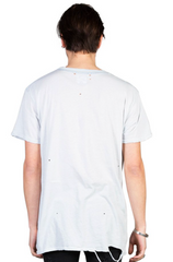 Streets Embroidered Tee // Super Bleach