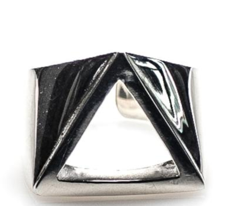 Trinity Ring // Polished Sterling Silver