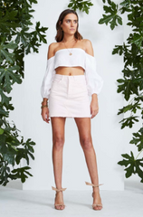 Pylos Skirt // Chalk Pink