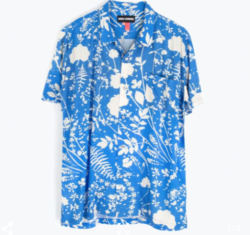 S/S Hawaiian Shirt // Dream Fields
