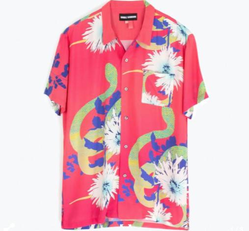 S/S Hawaiian Shirt // Daisy Cutter
