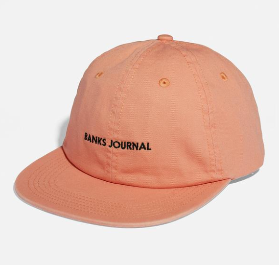 Label Cap // Faded Peach