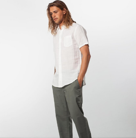 Apartment SS Shirt // White