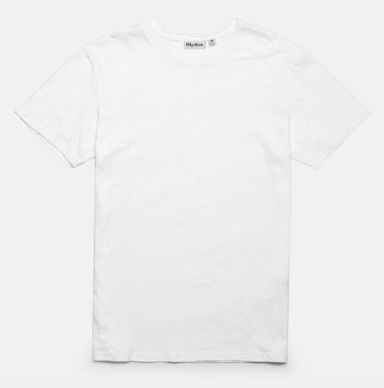 Basic Slub T-Shirt // White