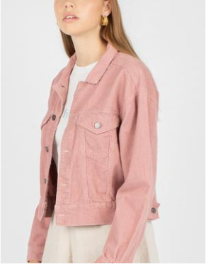 Original Jean Jacket // Blush Corduroy