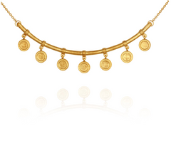 Hana Necklace // Gold