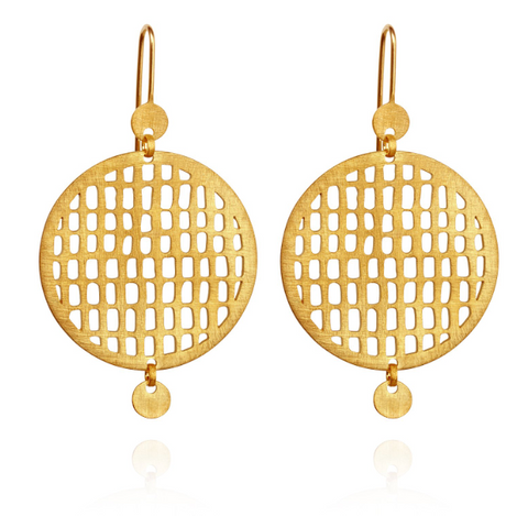 Pax Earrings // Gold