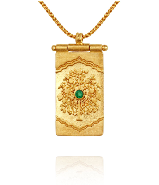 Tree Of Life Necklace // Gold