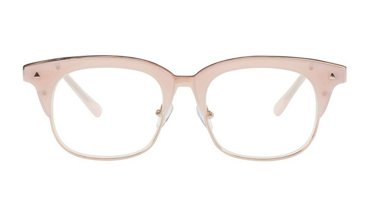 Larynx JNR // Baby Pink Optical