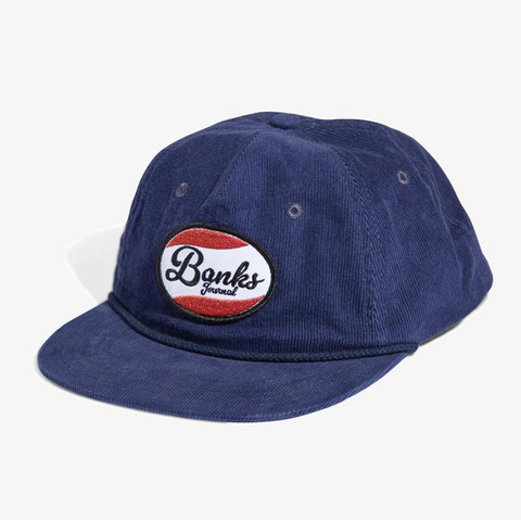 Broadcast Hat // Dirty Denim