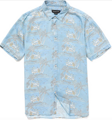 Holiday SS Shirt // Indigo Dolphins