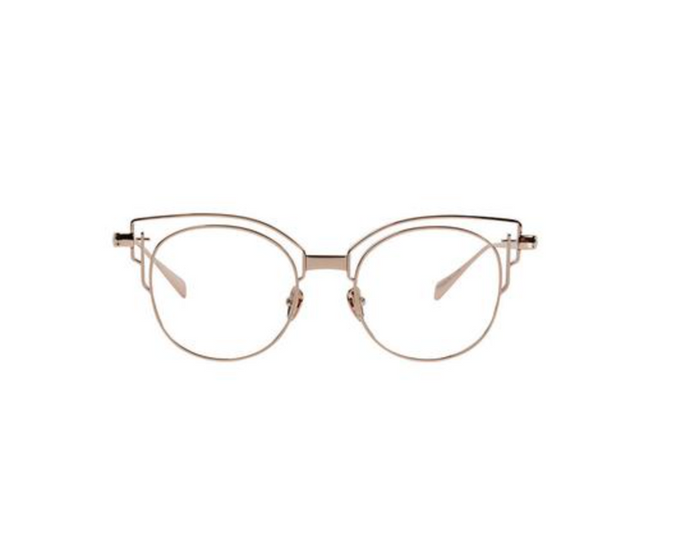 ADCC III // Rose Gold Titanium Clear Lens