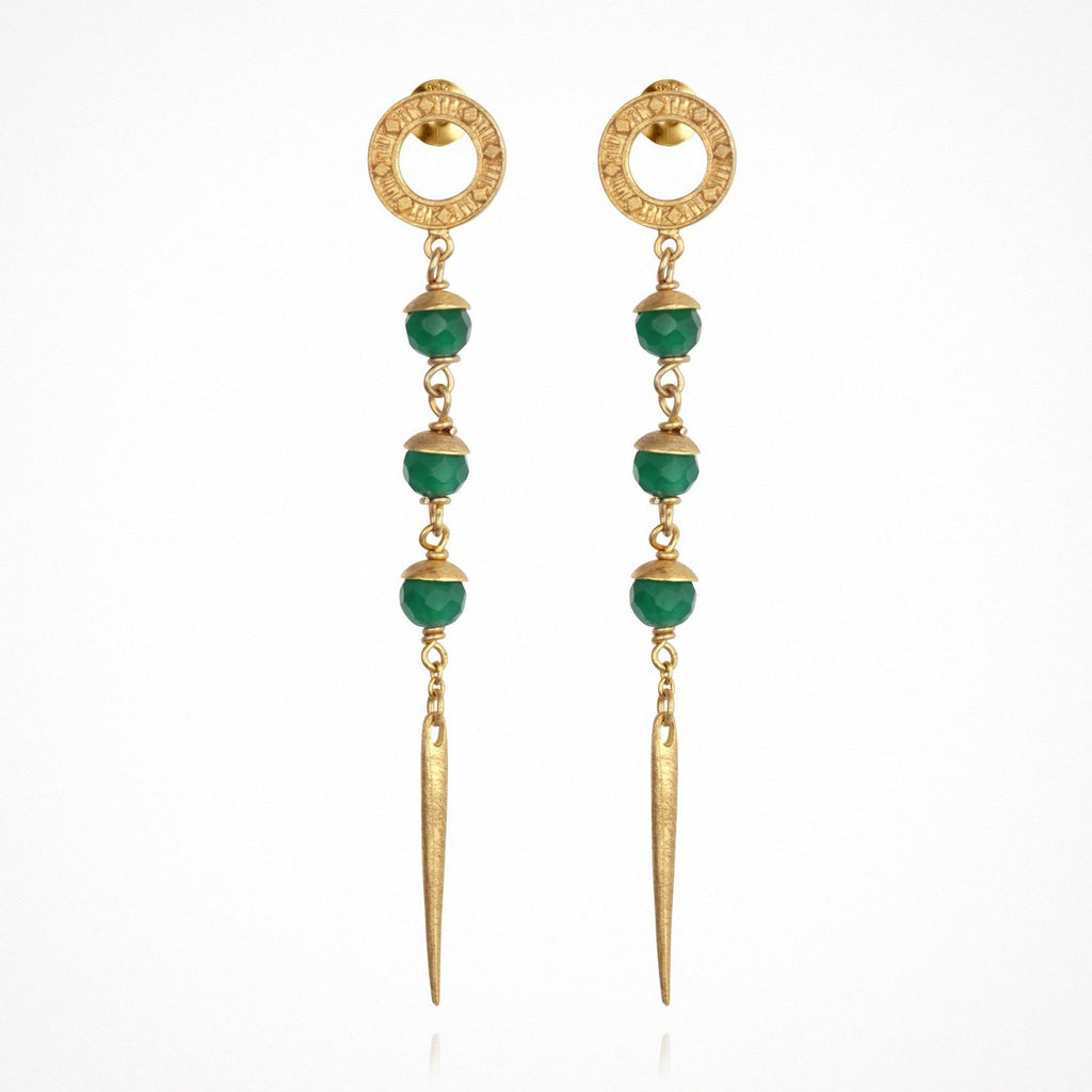 Talia Earrings // Gold