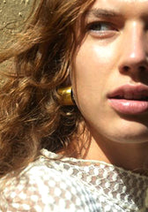 Tube Earrings // 18CT Gold Filled