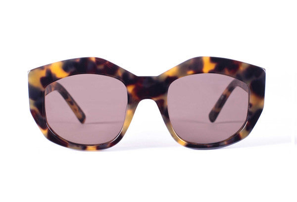 Badland // Mid Tortoise Brown Lens