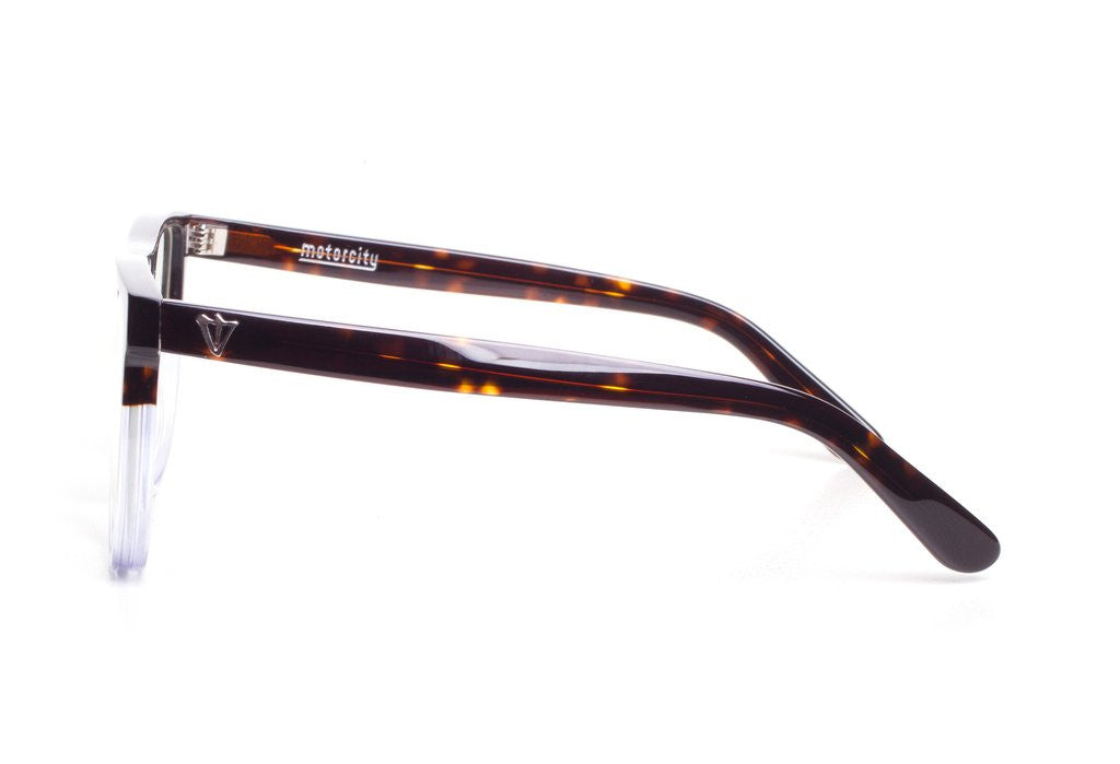 Motorcity Optical // Choc Tort to Clear