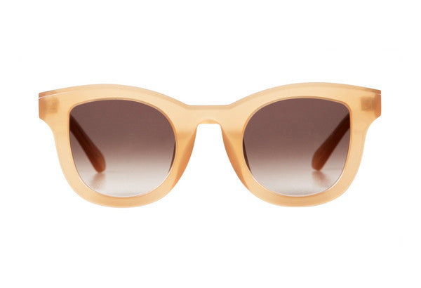 Wolfgang // Peach Brown Gradient Lens