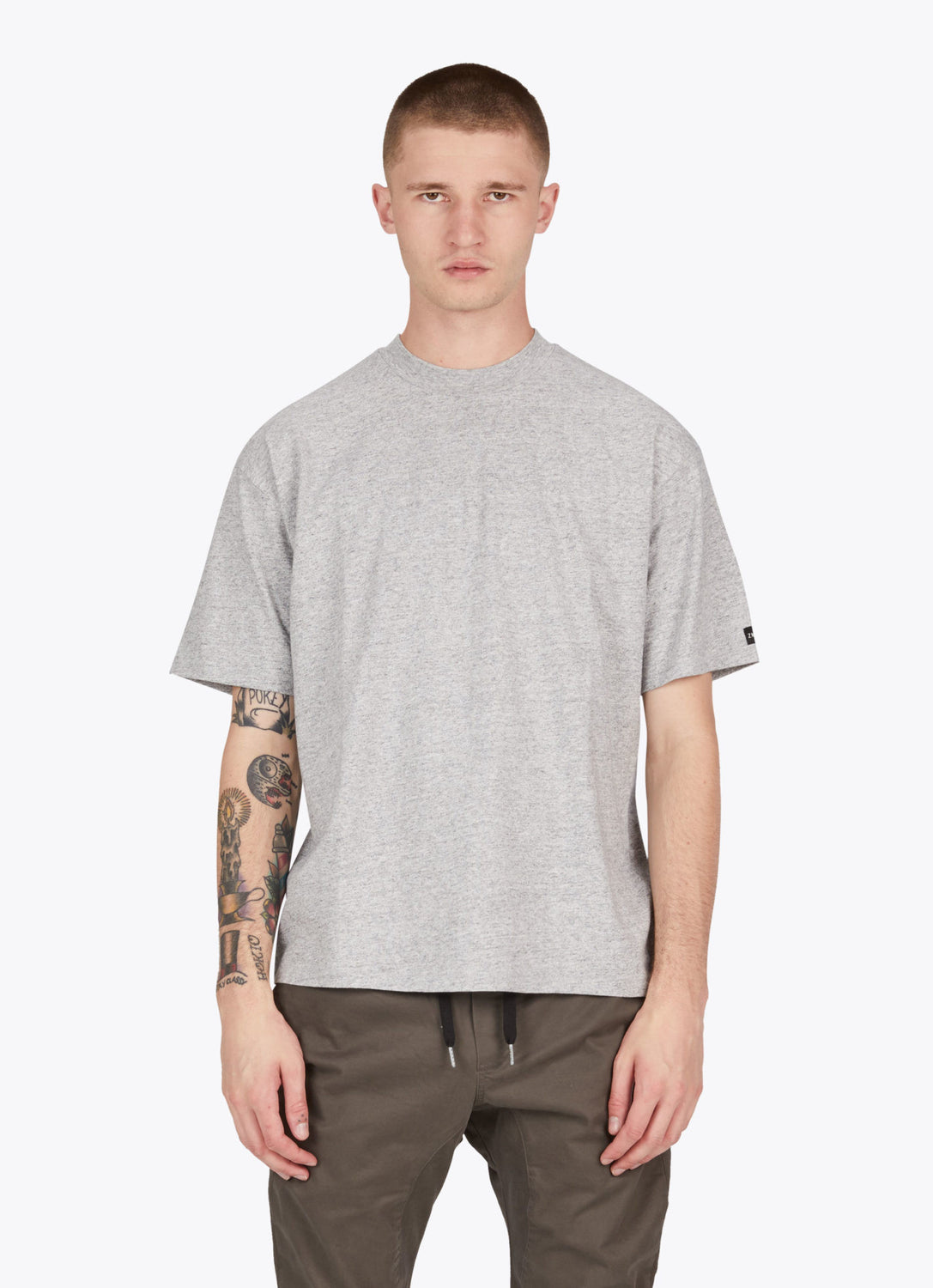 Box Tee // Cement Grey