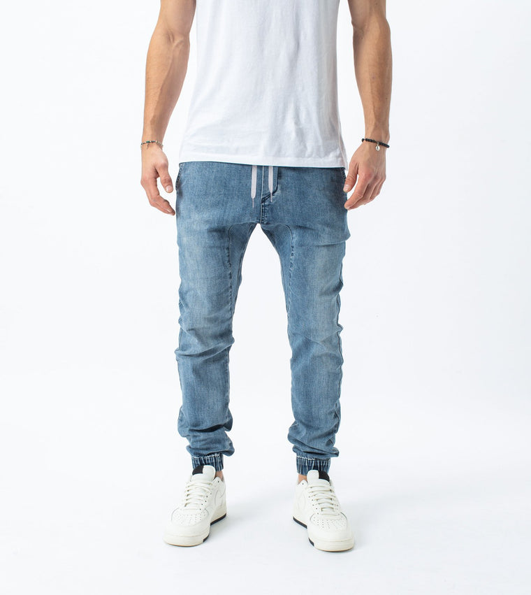 Sureshot Denim Jogger // Dark Denim