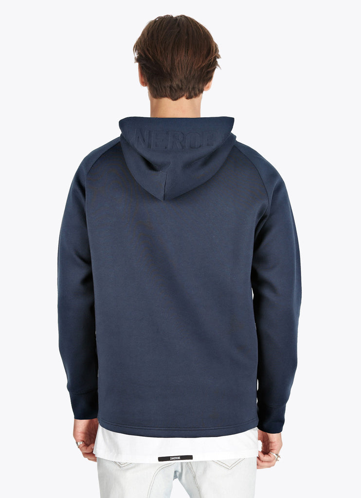 Foam Hood Sweat // Navy
