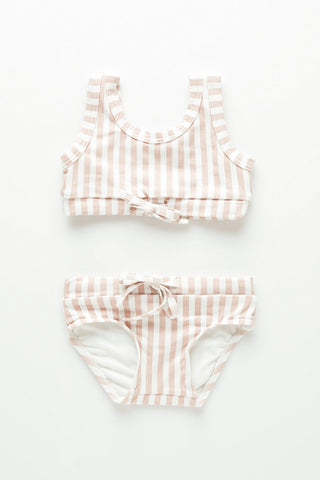 Mini Stripe Bikini // Lilac Stripe