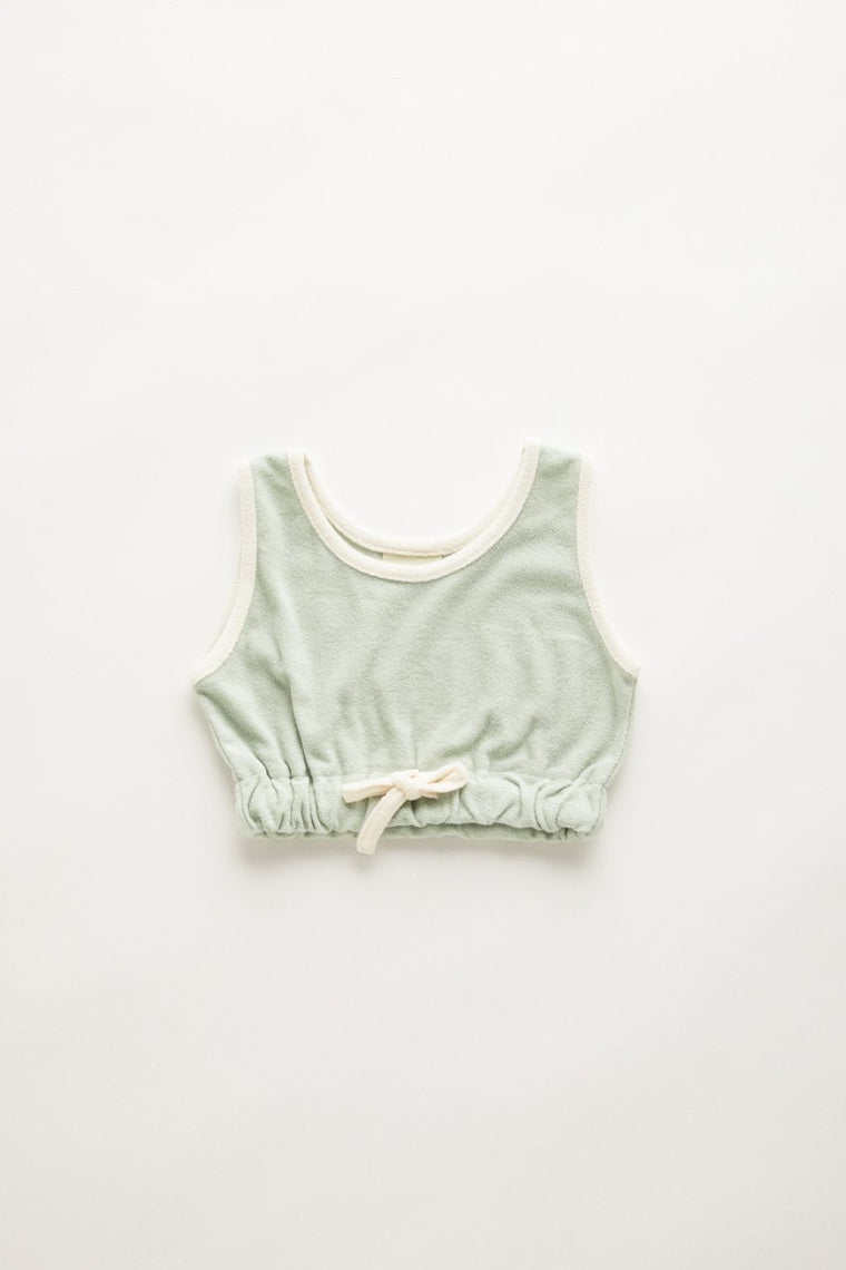 Mini Towel Tank // Seamist