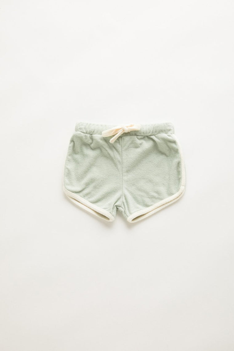 Mini Towel Short // Seamist