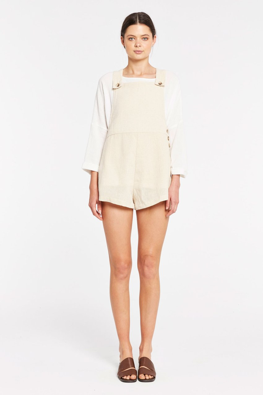 Sandstone Playsuit // Natural