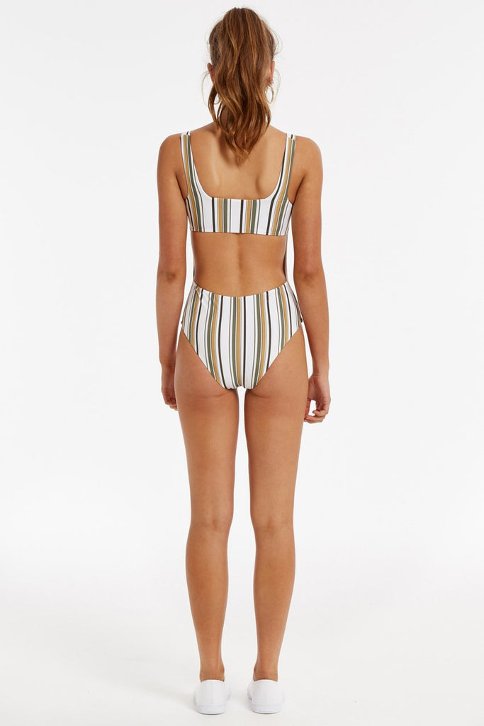 Island One Piece // Stripe