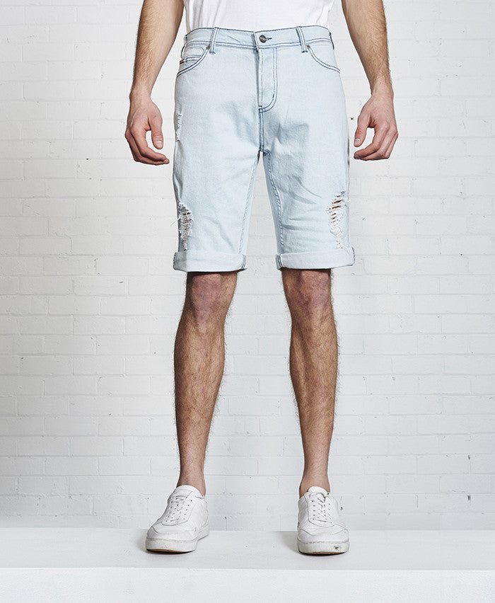 The Vee Short // Vintage Blue