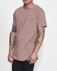 Chapel Tee // Burnt Mauve