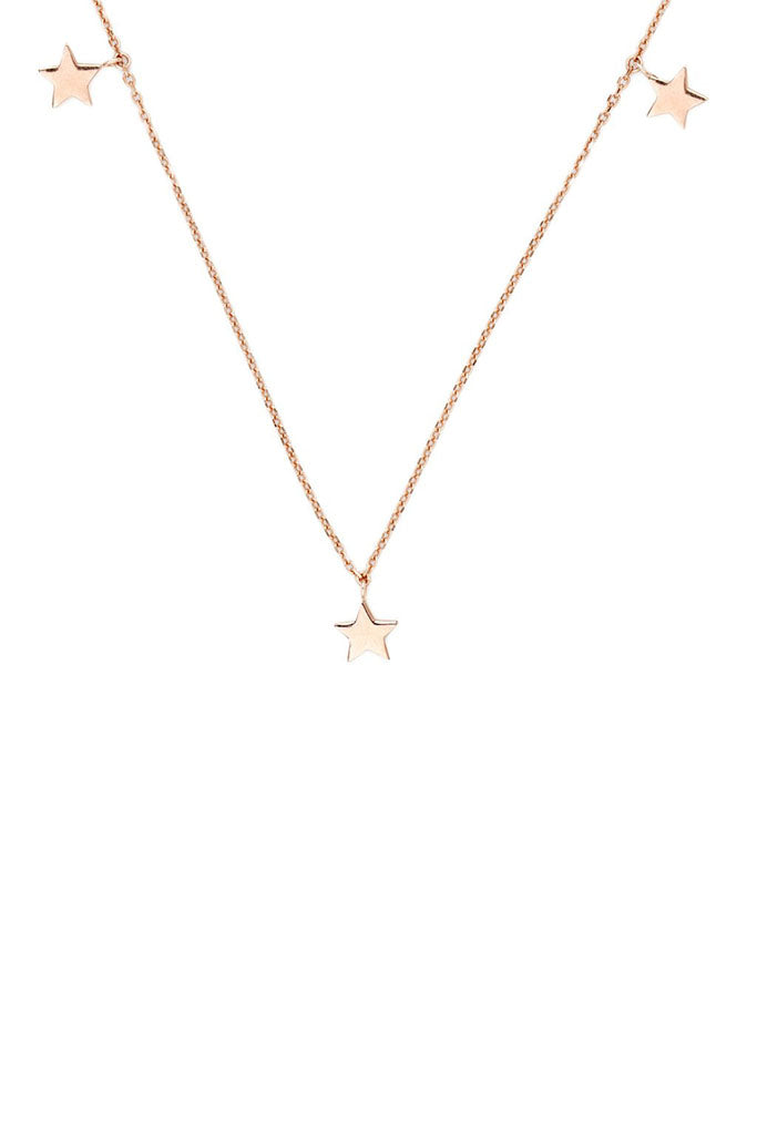 Star Bright Necklace // Rose Gold