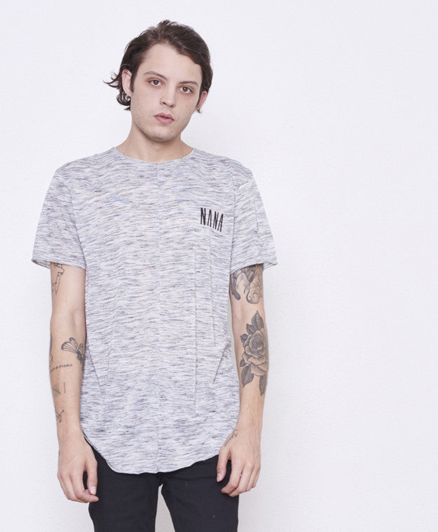 Republic Tee // Grey Linear