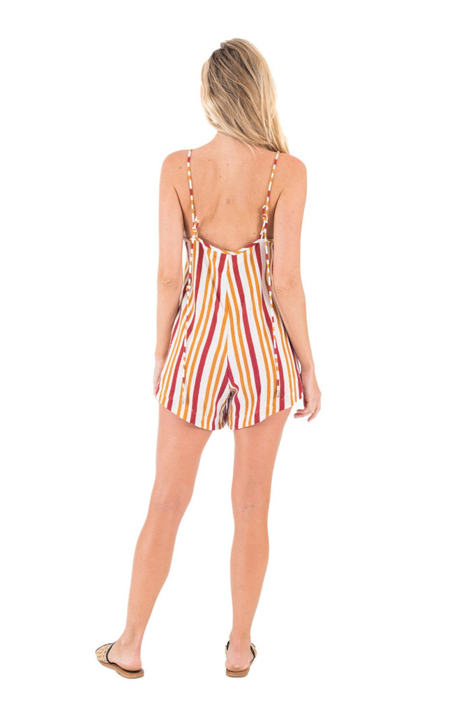 Candy Playsuit // Spice Stripe