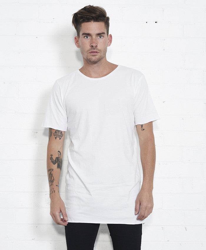 Basic Tall Tee // White