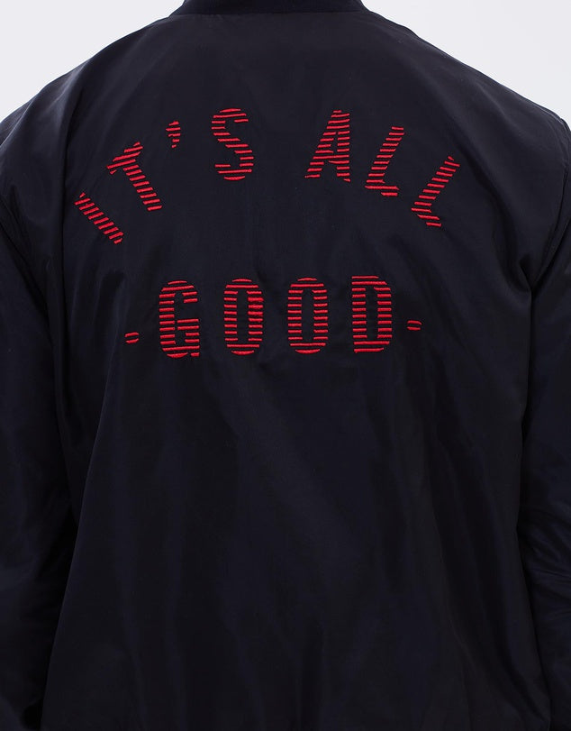 It's All Good Jacket // Black