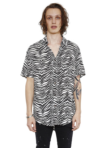 Stevie Shirt // Zebra